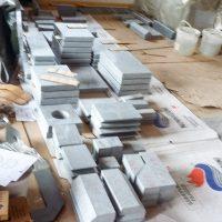 07 Bereitlegen Bauteile Steine